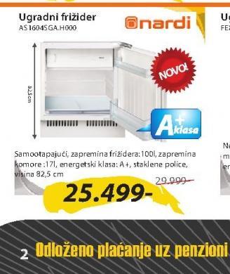 Ugradni frižider AS1604SGA.H000