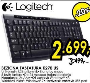 Tastatura K270 Us