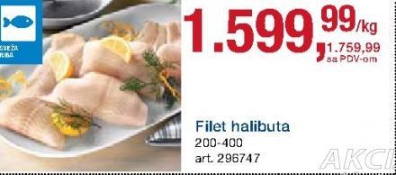 Riba halibut filet