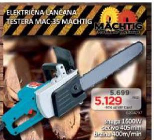 Električna lančana testera MAC 35