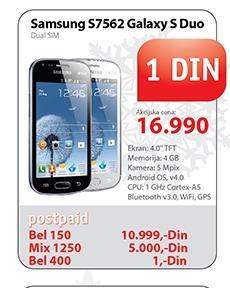 Mobilni telefon S7562 Galaxy S Duo Dual SIM