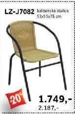 Baštenska stolica LZ-J7082