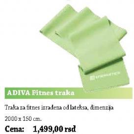 Fitnes traka ADIVA