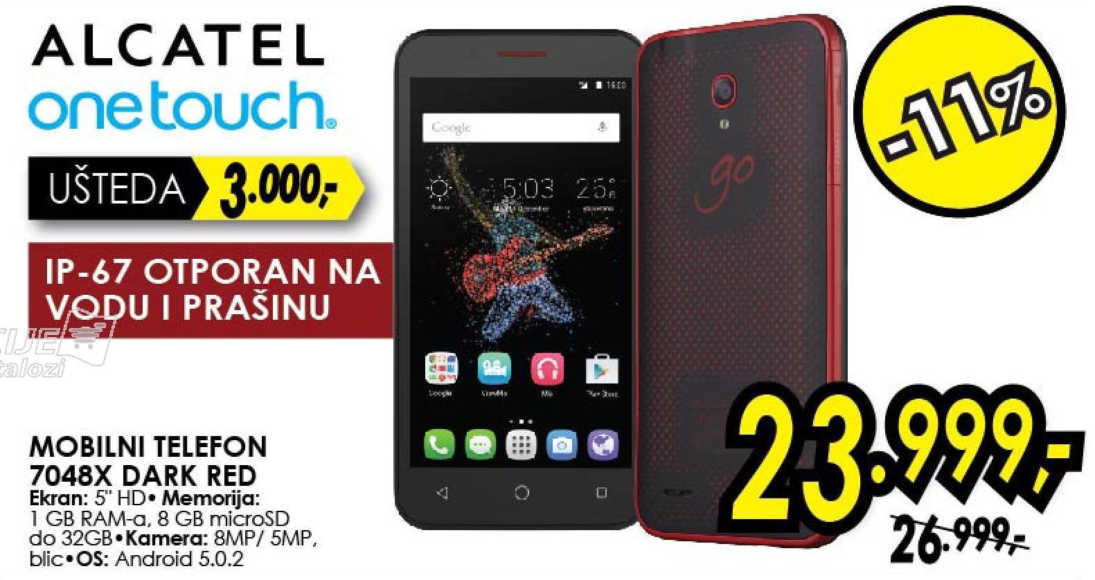Mobilni telefon 7048X Dark Red