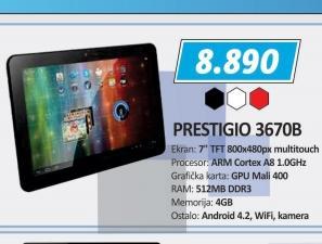 Tablet MultiPad PMP3670B