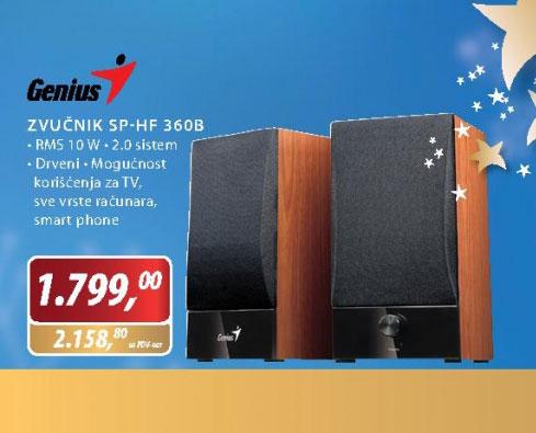 Zvučnici SP-HF360B
