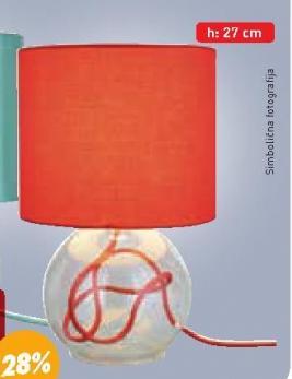 Stona lampa MILENA