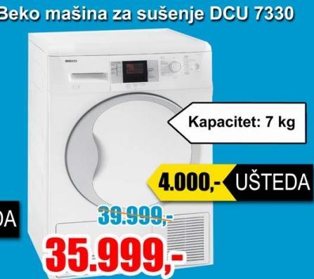 Mašina za sušenje veša DCU 7330