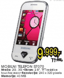 Mobilni telefon S7070