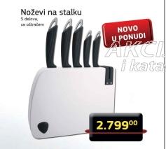 Noževi na stalku