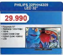"Televizor LED 32"" 32PHH4309"