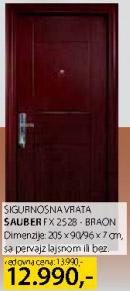 Sigurnosna vrata Sauber Fx2528