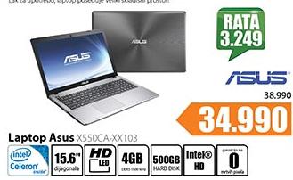 Laptop X550CA-XX103