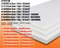 Stiropor tabla, 2cm