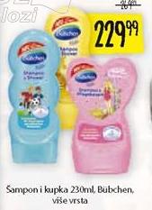 Baby šampon i kupka Bubchen