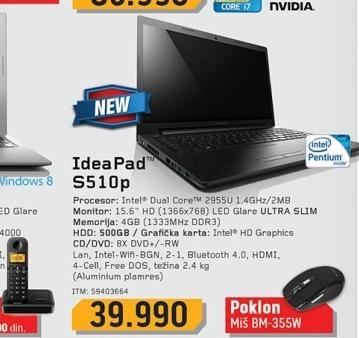 Laptop S510p