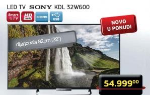 32W600 LED Televizor