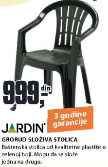 Baštenska stolica Grorud Jardin