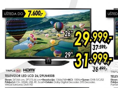Televizor LED LCD 26LN450B