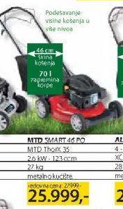 Motorna kosačica MTD Smart 46 PO