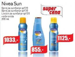 Sprej za sunčanje SPF 30