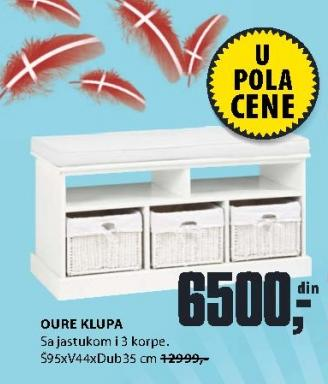 Klupa Oure