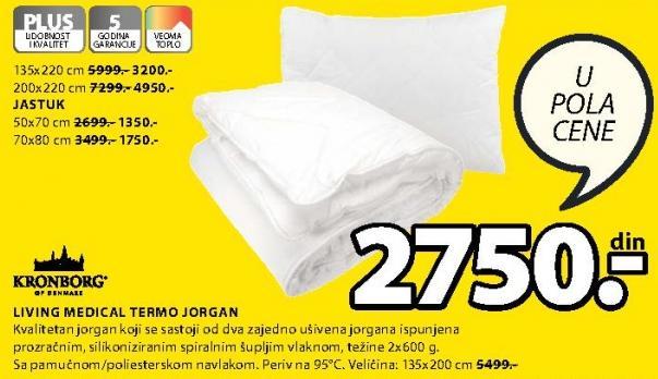Jastuk Termo Living Medical 70x80cm