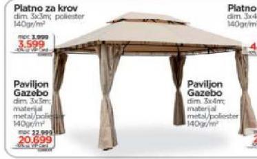 Paviljon Gazebo