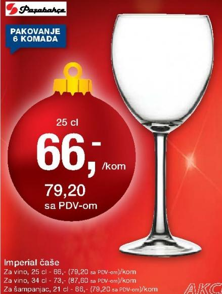 Čaše Imperial za vino