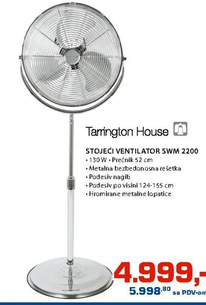 Stojeći ventilator SWM 2200