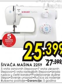 Mašina Za Šivenje 2259
