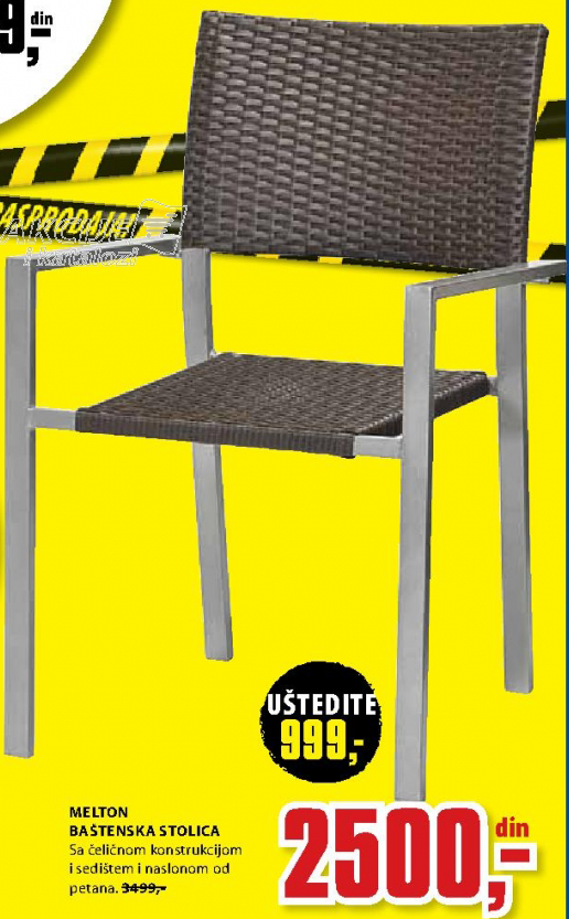 Baštenski stolica Melton