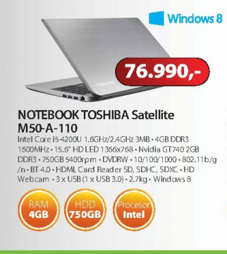 Laptop  M50-A-110