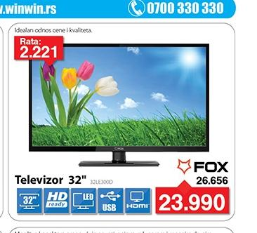"""Televizor TV 32"""" LED 32LE300D"""