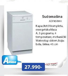 Sudomašina ADP450WH