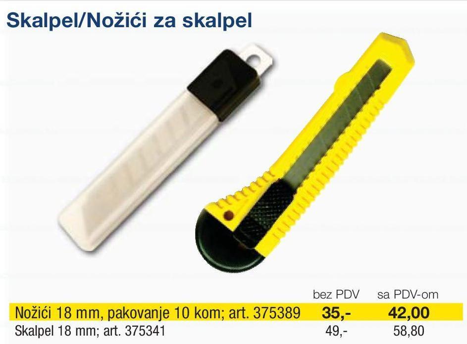 Nožići za skalpel
