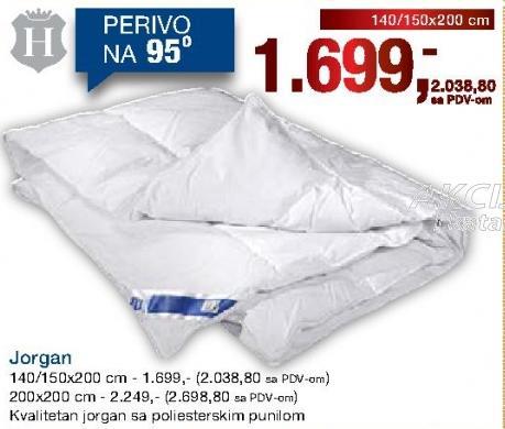 Jorgan 140/150x200cm