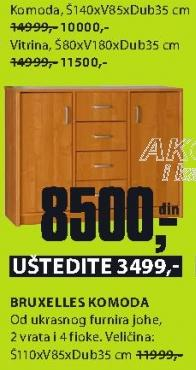Komoda Bruxelles 80x180