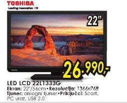 Televizor LED LCD 22L1333G