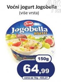 Voćni jogurt