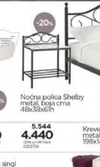 Noćna polica Shelby
