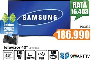 """Televizor TV 40"""" LED Smart 3D UE40F8000"""