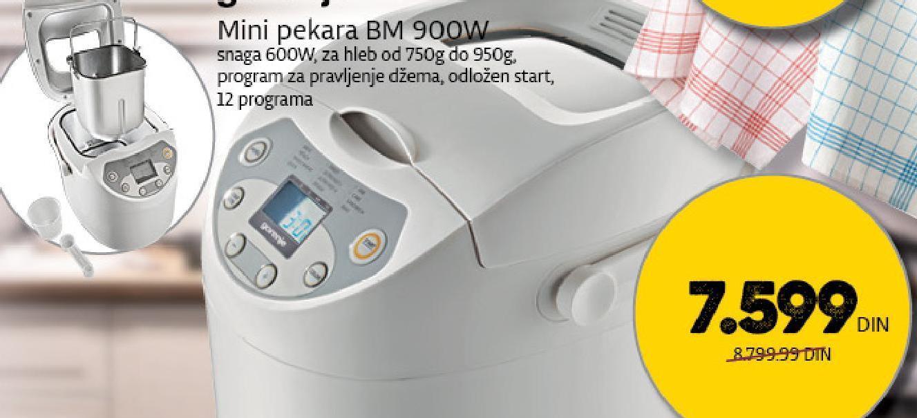 Pekara BM 900 W