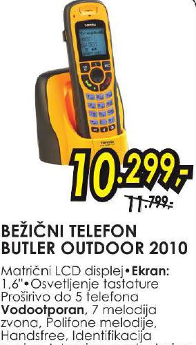 Bežični telefon Butler outdoor 2010