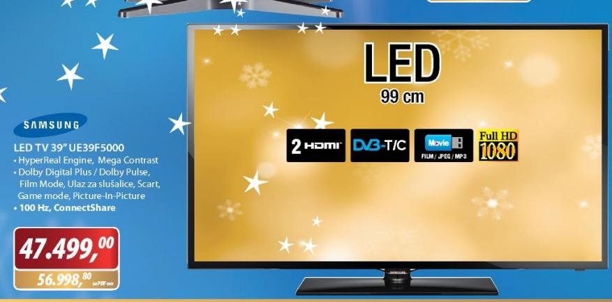 Televizor LED UE39F5000