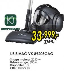 Usisivač Vk-8920Scaq
