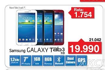Tablet Galaxy Tab 3 SM-T2100