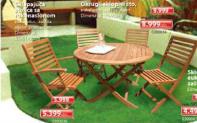 Okrugli sklopivi sto