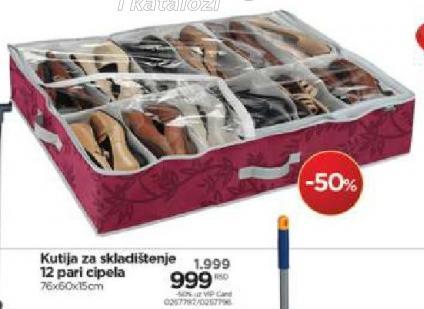 Kutija za skladištenje cipela