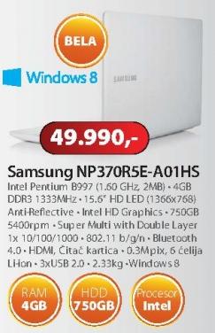 Laptop NP370R5E-A01HS